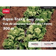 Bandă de picurare Aqua TraXX 0,28lei/m,dist.pic.30 cm, rola 300 m