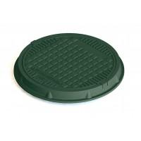 Capac polimer-compozit rotund necarosabil A15 750/630 Verde