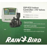 "KIT : Programator - Controler RZX 6 zone interior + 6 electrovane HV 100 FI 1 "" Rainbird 24 volti"
