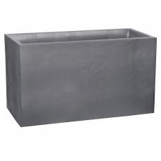 JARDINIERA  MARE DREPTUNGHIULARA GRI 99,5x39,5x60 cm