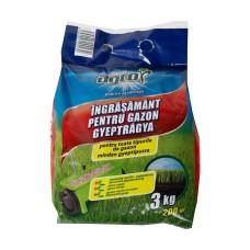 Îngrăşământ pentru gazon NPK, 3 kg